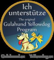 Gelber Hund