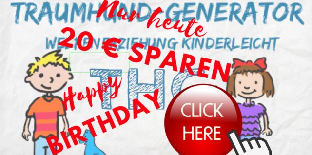 Traumhund-Generator Geburtstag
