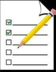 checkliste 3 dinge
